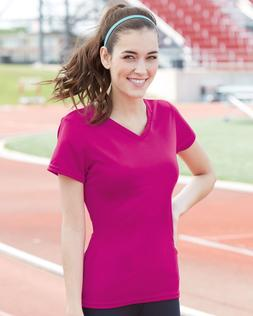 Augusta Sportswear Women's V-Neck Wicking T-Shirt 1790