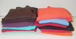 Three Dots Womens Long Sleeve Double V Neck Top Tee 13 Color